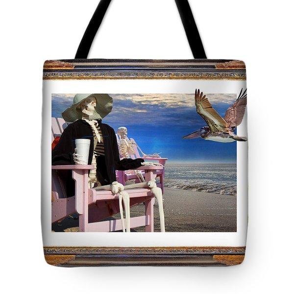 Beach Bones Tote Bag