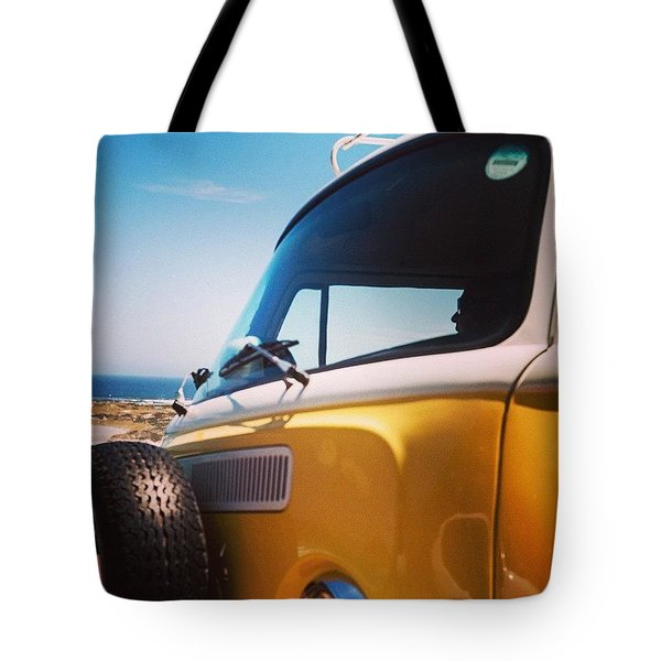 Beach Bug Tote Bag