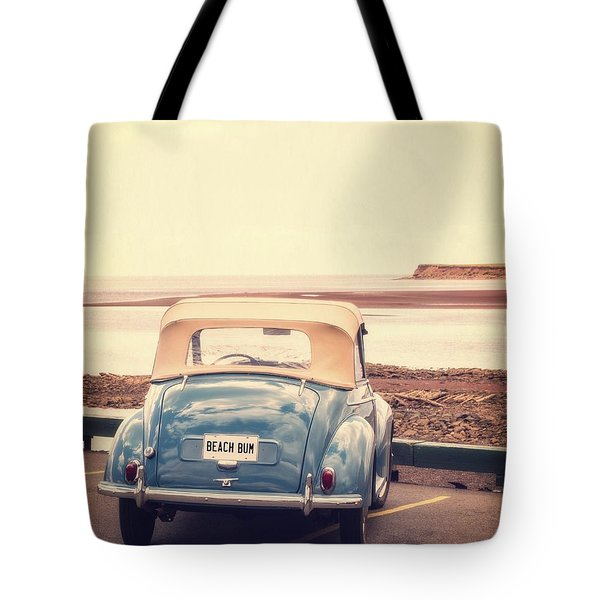 Beach Bum Tote Bag by Edward Fielding