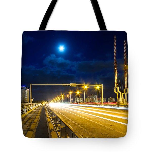 Beach Causeway Tote Bag