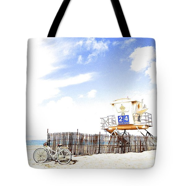 Beach Cruiser Tote Bag by Margie Amberge