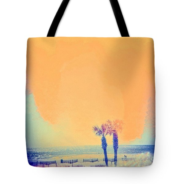 Tote Bag featuring the photograph Beach Dream by Carol Whaley Addassi