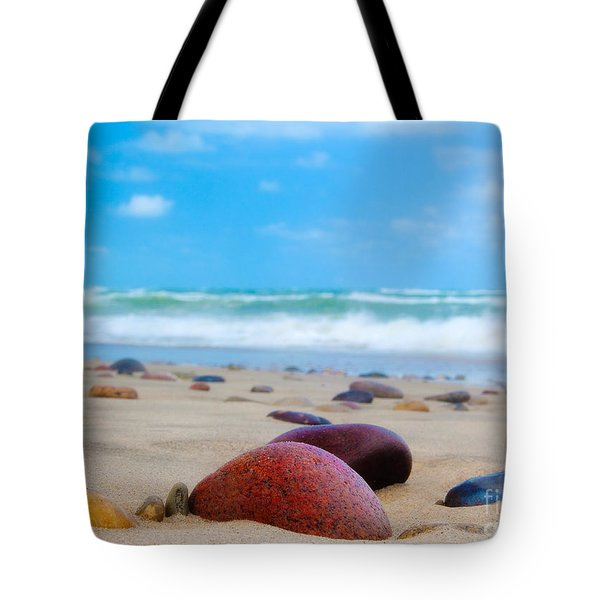 Beach Dreams In Skagen Tote Bag by Inge Johnsson