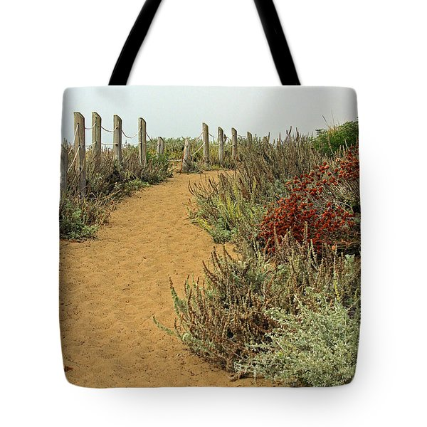 Tote Bag featuring the photograph Beach Dune  by Kate Brown