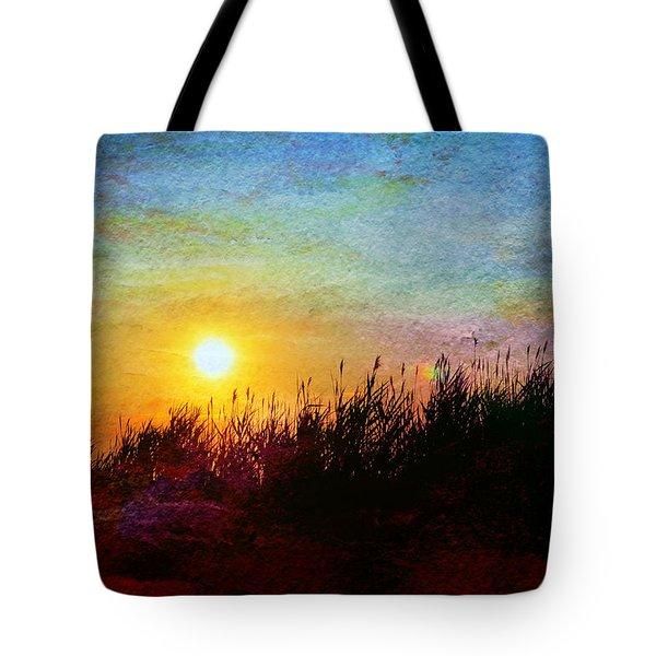 Beach Dune Sunset Tote Bag