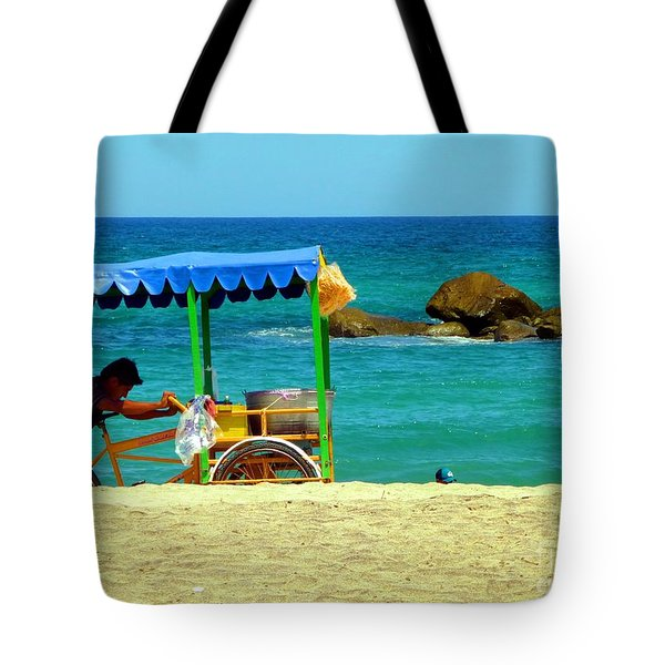 Beach Entrepreneur In San Jose Del Cabo Tote Bag