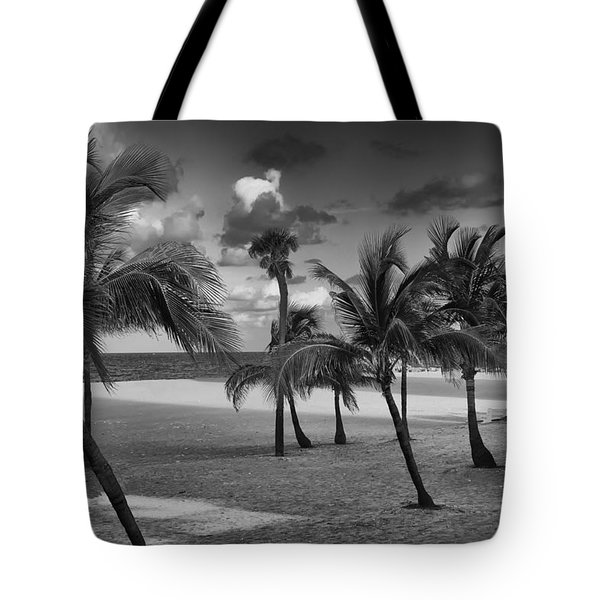 Beach Foliage Tote Bag