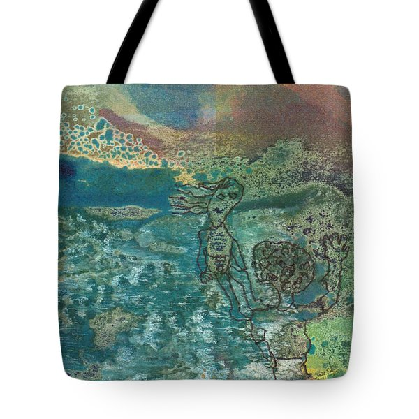 Beach Friends Flotsam And Jetsam Tote Bag by Catherine Redmayne