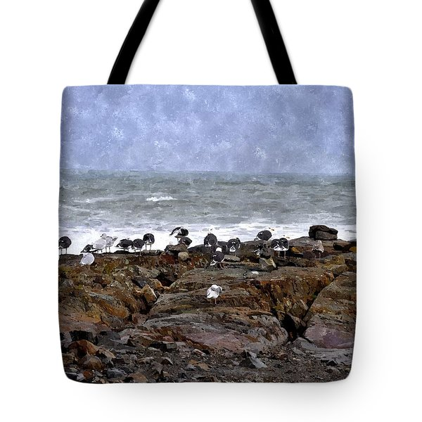 Beach Goers Bgwc Tote Bag