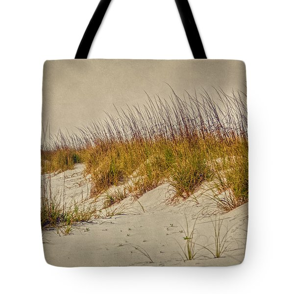 Beach Grass And Sugar Sand Tote Bag