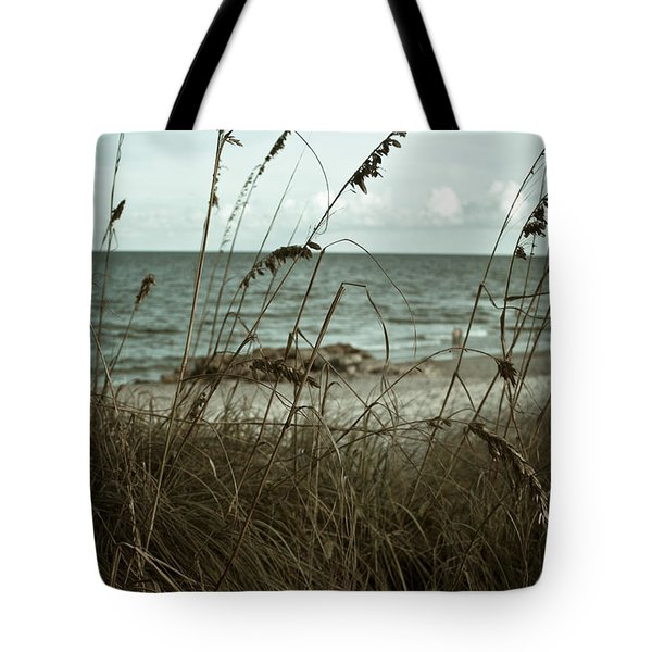 Beach Grass Oats Tote Bag