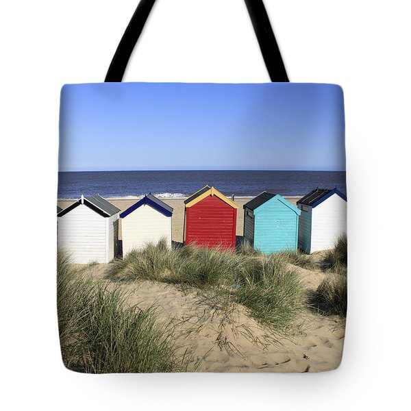 Southwold Beach Huts Uk Tote Bag