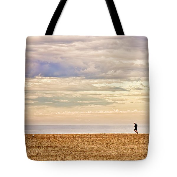 Beach Jogger Tote Bag by Chuck Staley