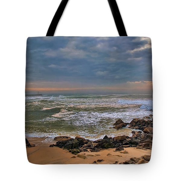 Beach Landscape Tote Bag