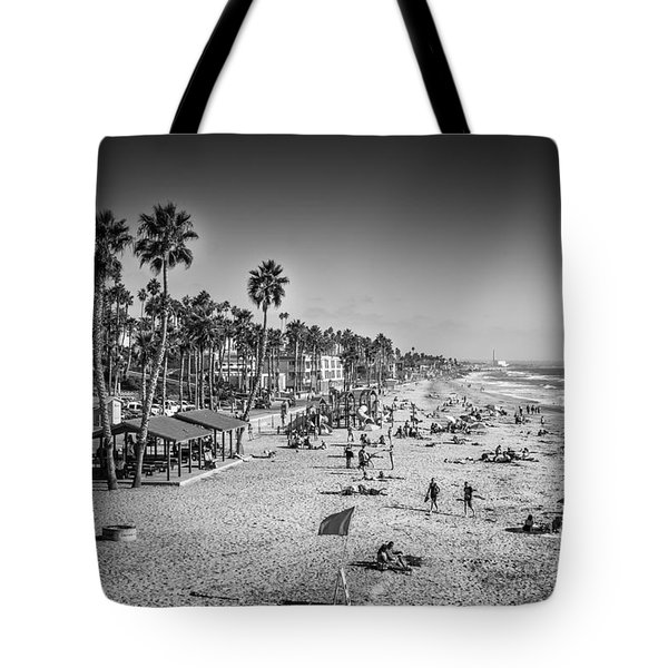Beach Life From Yesteryear Tote Bag