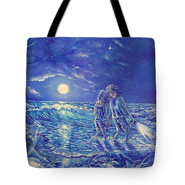 Beach Lites Tote Bag