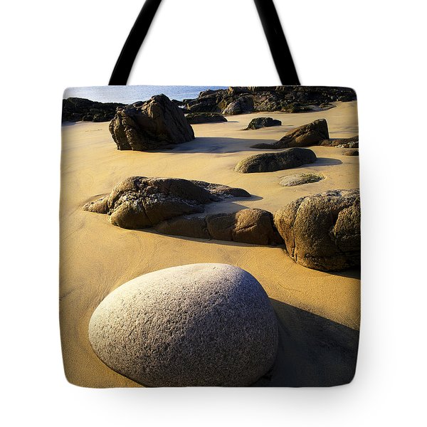 Beach Of Gold Tote Bag