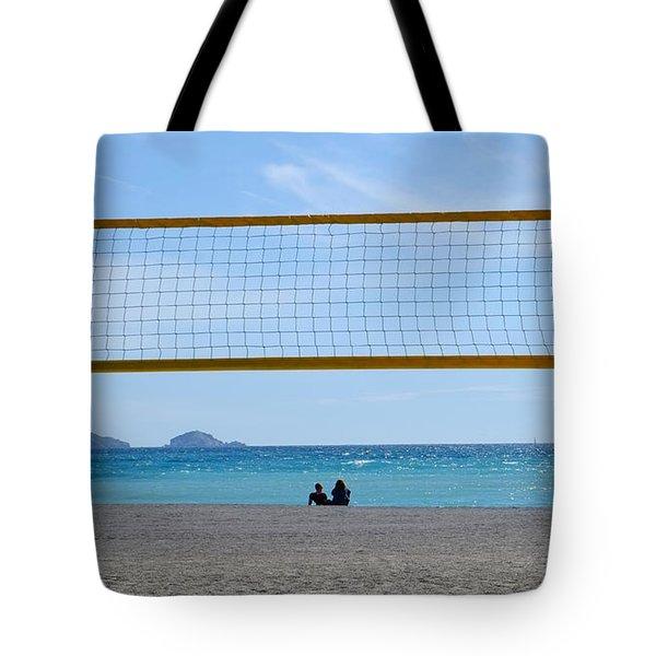 Beach Of Marseille Tote Bag