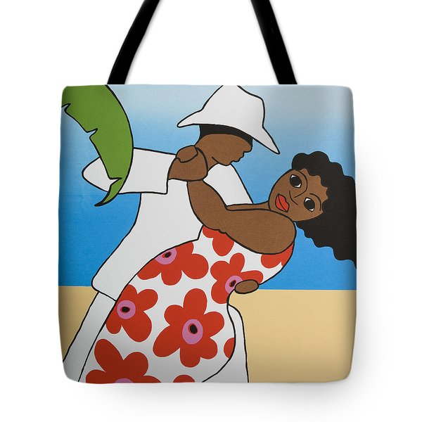 Beach Party Tote Bag by Trudie Canwood