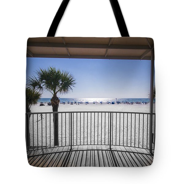 Beach Patio Tote Bag