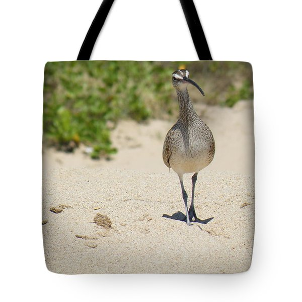 Tote Bag featuring the photograph Beach Patrol by Brian Boyle