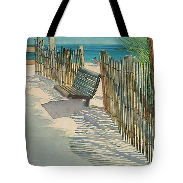 Beach Patterns Tote Bag