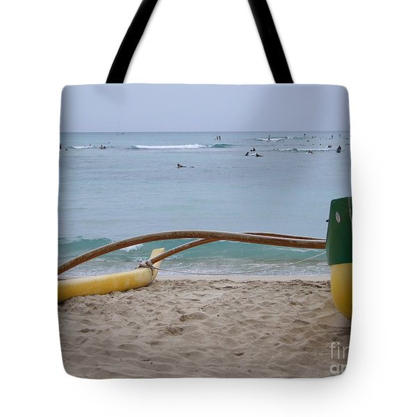 Beach Play Tote Bag by Mary Deal