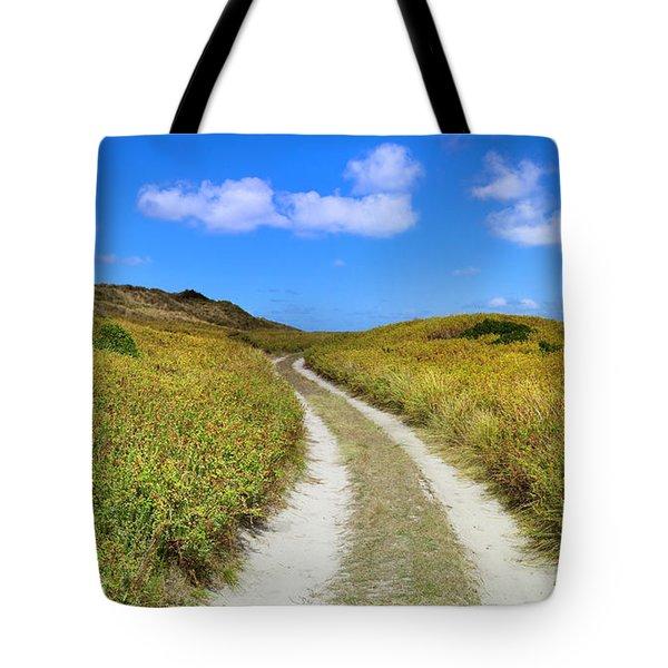 Beach Road Tote Bag by Sean Davey