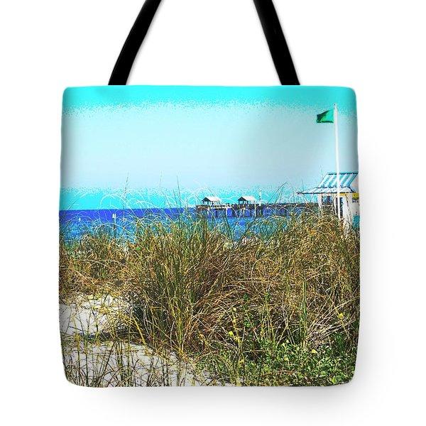 Beach Serenity Tote Bag