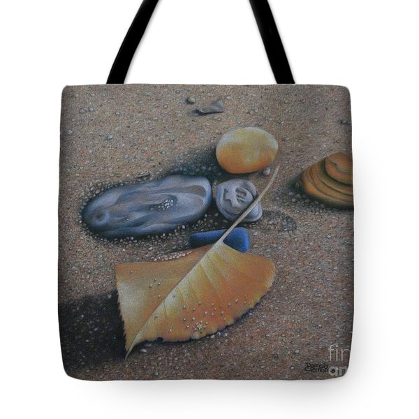 Beach Still Life IIi Tote Bag by Pamela Clements