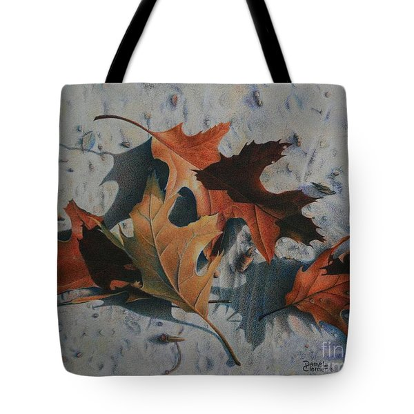 Beach Still Life Tote Bag by Pamela Clements