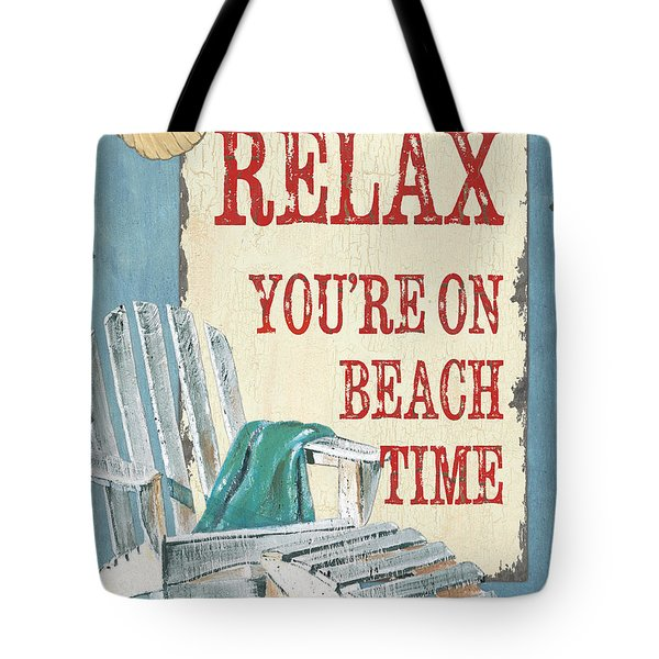 Beach Time 1 Tote Bag