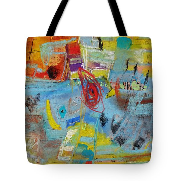 Beach Time Tote Bag by Katie Black