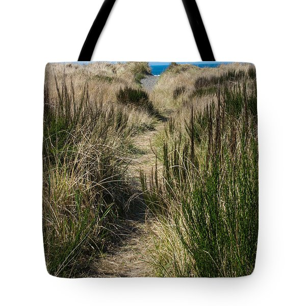 Beach Trail Tote Bag by Tikvah's Hope