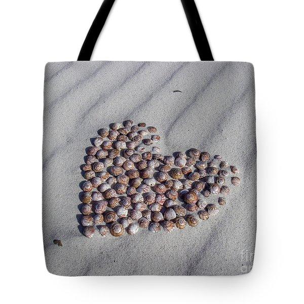 Beach Treasure Tote Bag by Jola Martysz
