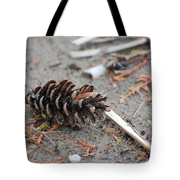 Tote Bag featuring the photograph Beach Treasures by Bianca Nadeau