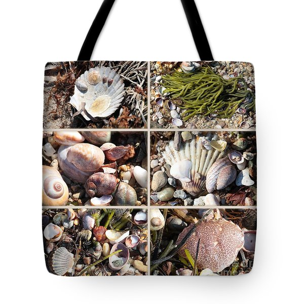 Beach Treasures Tote Bag by Carol Groenen