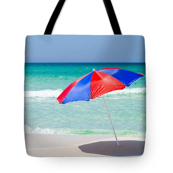Beach Umbrella Tote Bag by Shelby  Young
