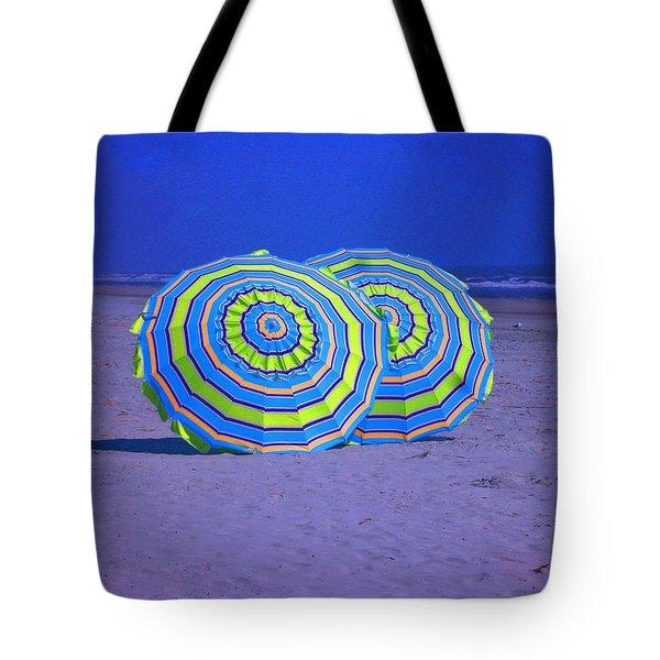 Beach Umbrellas By Jan Marvin Studios Tote Bag