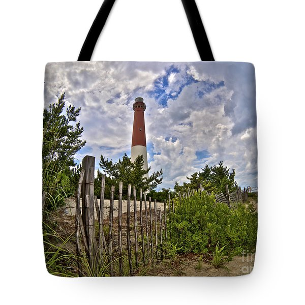 Beach View Of Barney Tote Bag