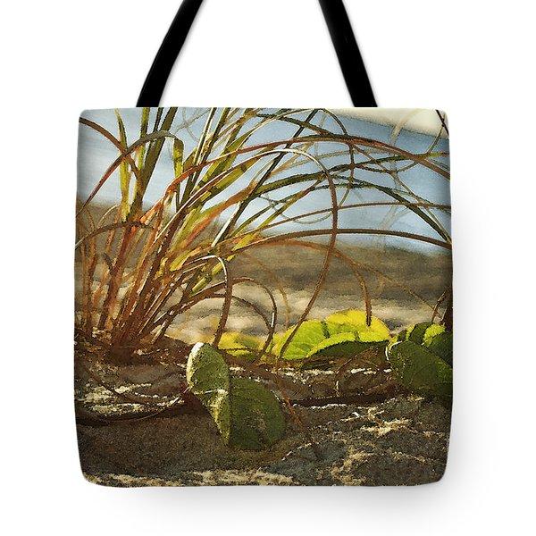 Beach Vine Tote Bag