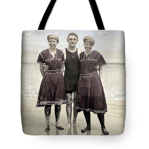 Beach Wear Fashion 1910 Tote Bag