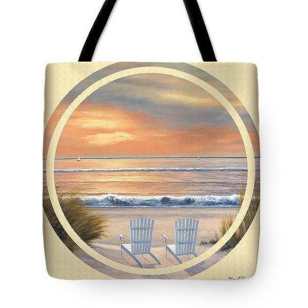 Beach World Tote Bag by Diane Romanello
