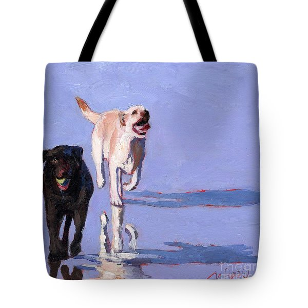 Beachball Tote Bag by Molly Poole