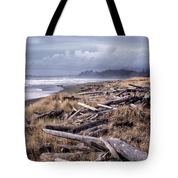 Beached Driftlogs Tote Bag
