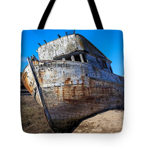 Beached Point Reyes Tote Bag by Garry Gay