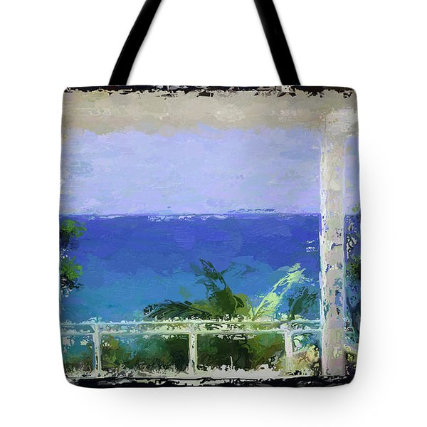 Beachfront Oasis Tote Bag by Anthony Fishburne