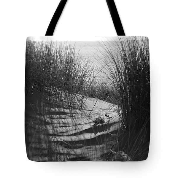 Tote Bag featuring the photograph Beachgrass by Adria Trail