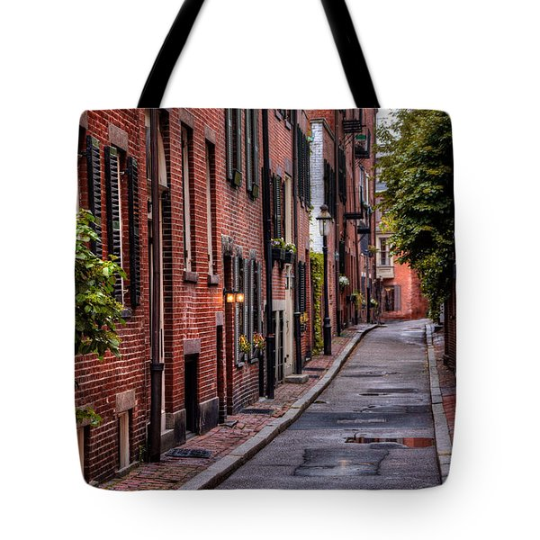 Beacon Hill Boston Tote Bag