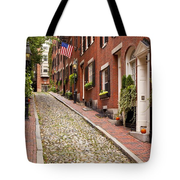 Beacon Hill Tote Bag by Brian Jannsen